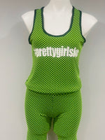 Lime Green Biker Set