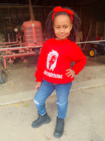 Lil Mama Red Sweatshirt