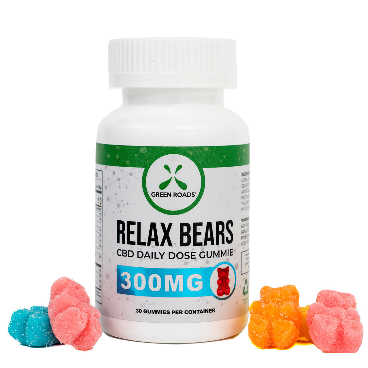 Green Roads CBD Relax Bears Gummies