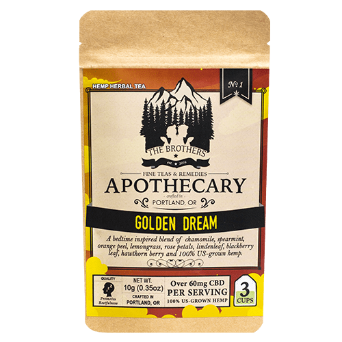 The Brother's Apothecary Golden Dream CBD Chamomile Tea