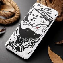 Load image into Gallery viewer, FREE Naruto Shippuden Black And White iPhone Case