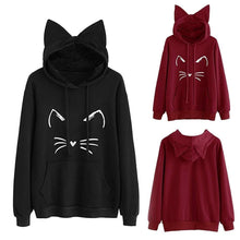 Load image into Gallery viewer, FREE Kawaii Neko Style Hoodie