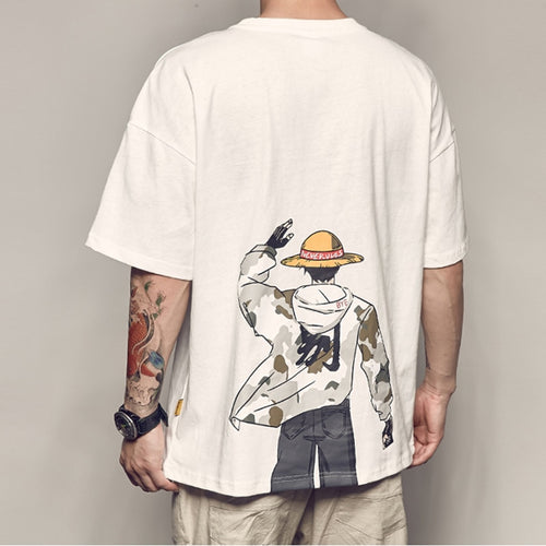 FREE One Piece Oversized Cool T-Shirt