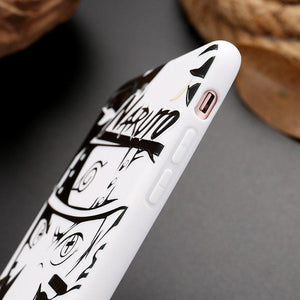 FREE Naruto Shippuden Black And White iPhone Case