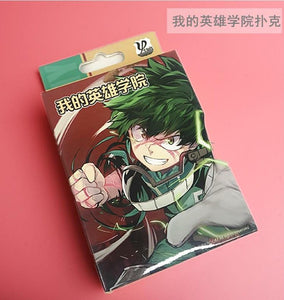 FREE My Hero Academia 54 Pcs/Set Poker Card