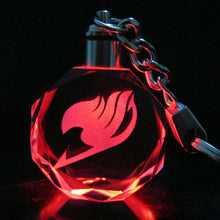 Load image into Gallery viewer, FREE Fairy Tail LED Keychain