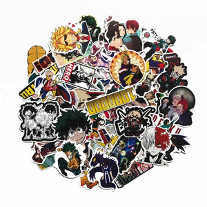 FREE My Hero Academia 73Pcs/Set Stickers