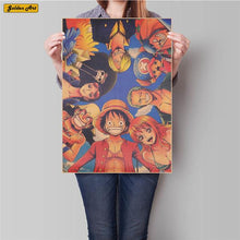 Load image into Gallery viewer, FREE One Piece Anime Poster