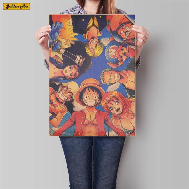 FREE One Piece Anime Poster