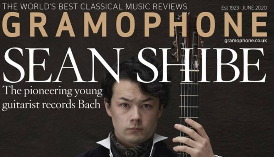 Gramophone Magazine's June Cover Star