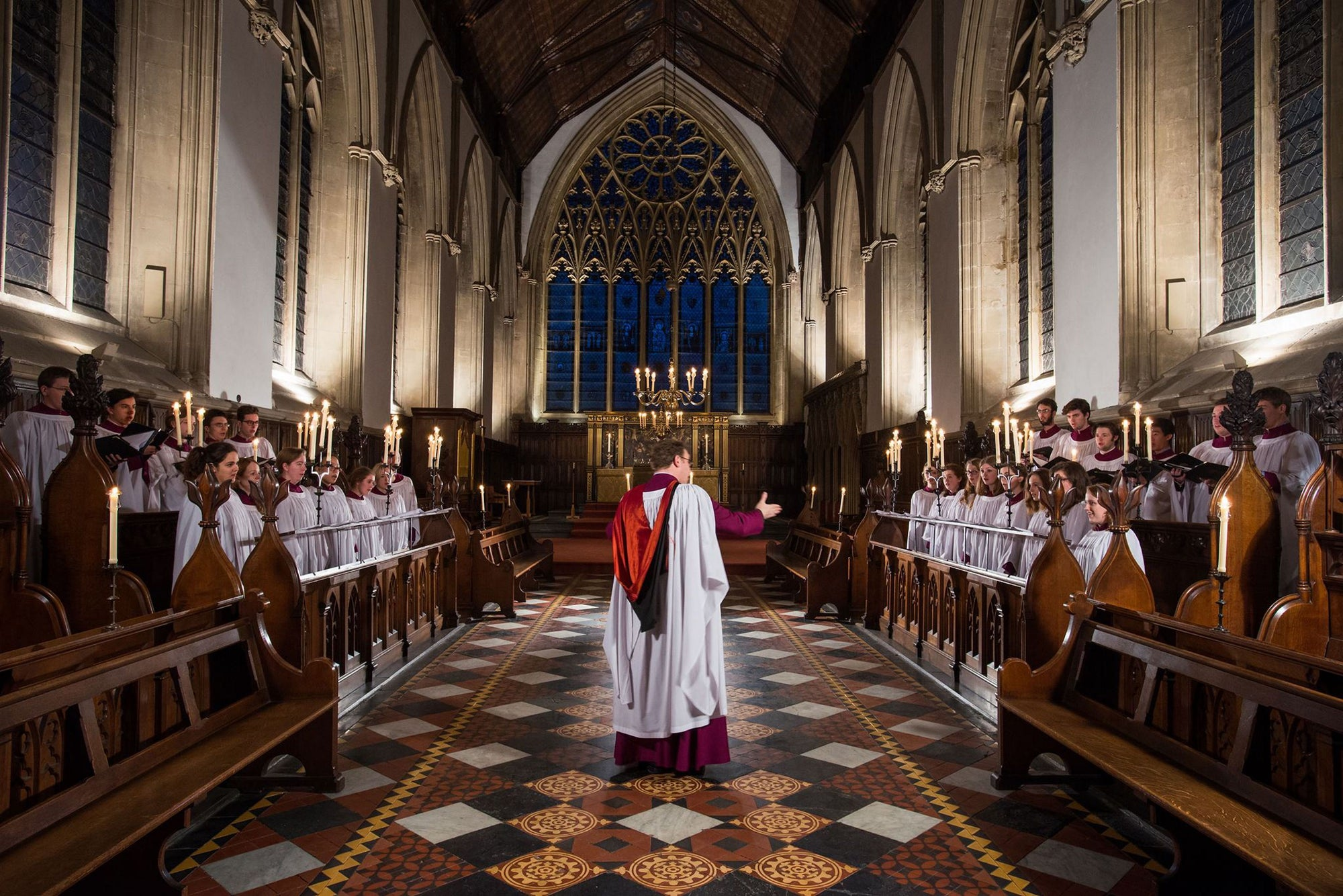 The Choir of Merton College, Oxford | Benjamin Nicholas