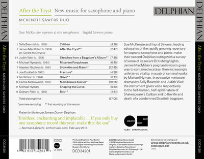 After the Tryst CD Delphian Records