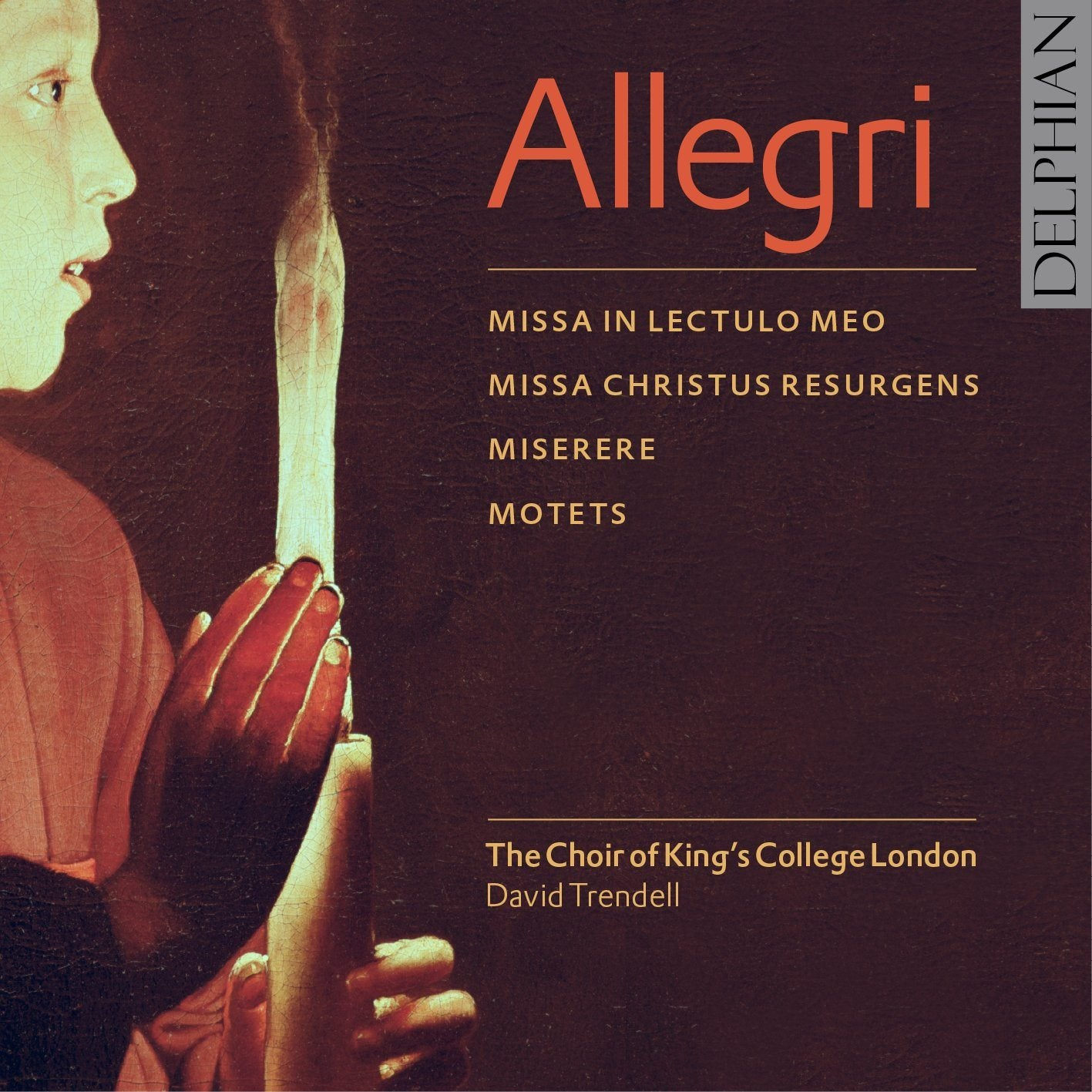 Allegri: Miserere; Masses & Motets CD Delphian Records