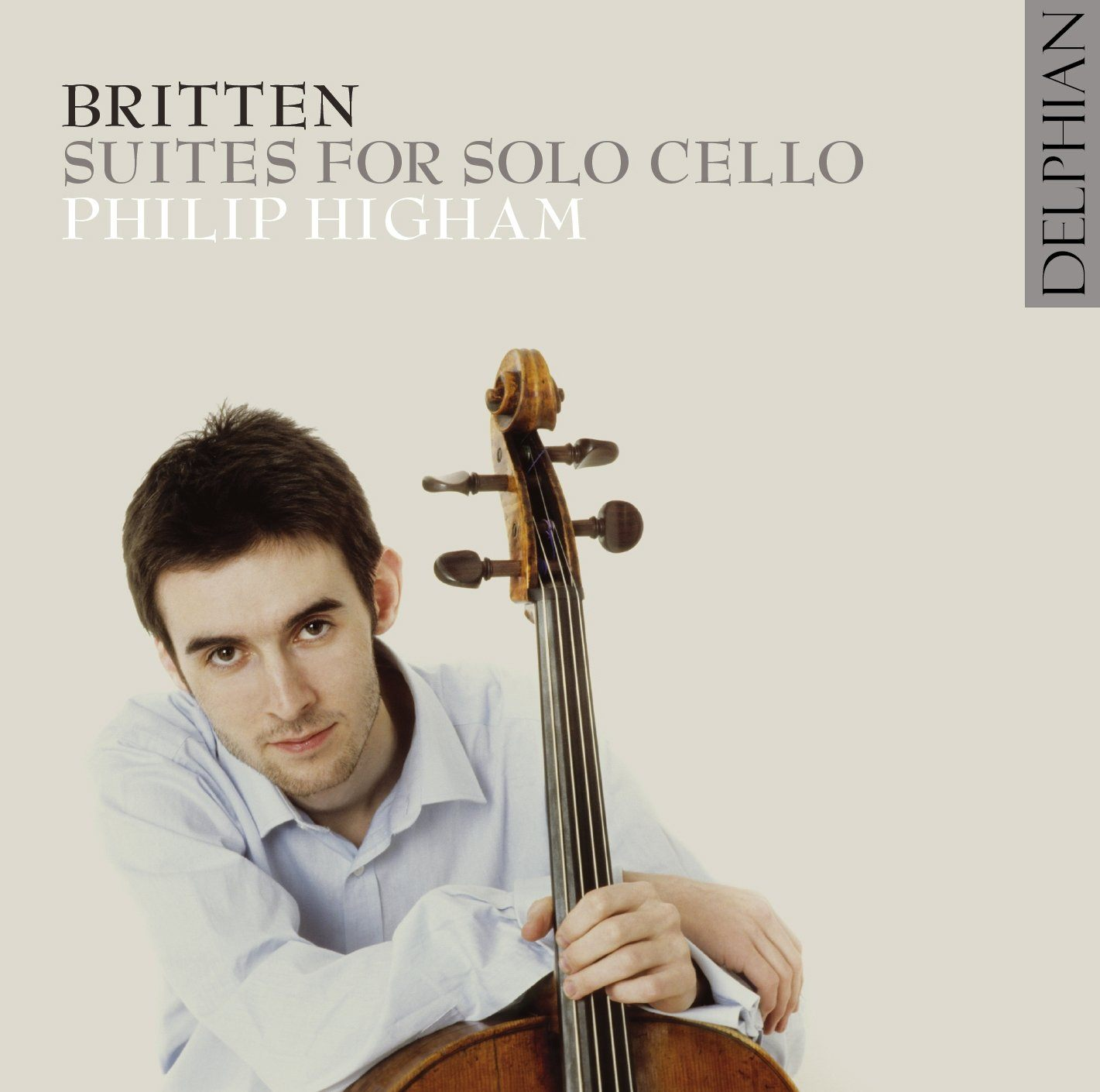 Britten: Suites for Solo Cello CD Delphian Records