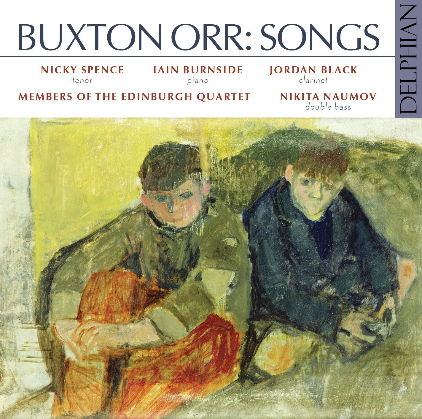 Buxton Orr: Songs CD Delphian Records