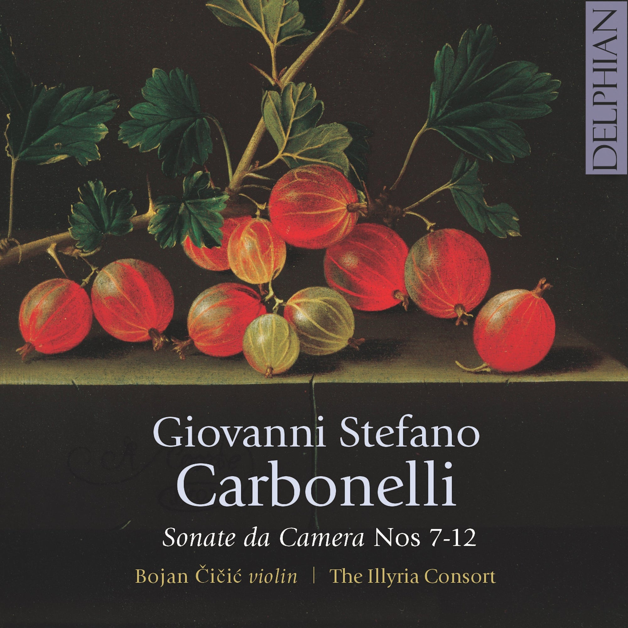 Carbonelli: Sonate da Camera Vol.2 CD Delphian Records