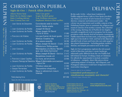 Christmas in Puebla Delphian Records