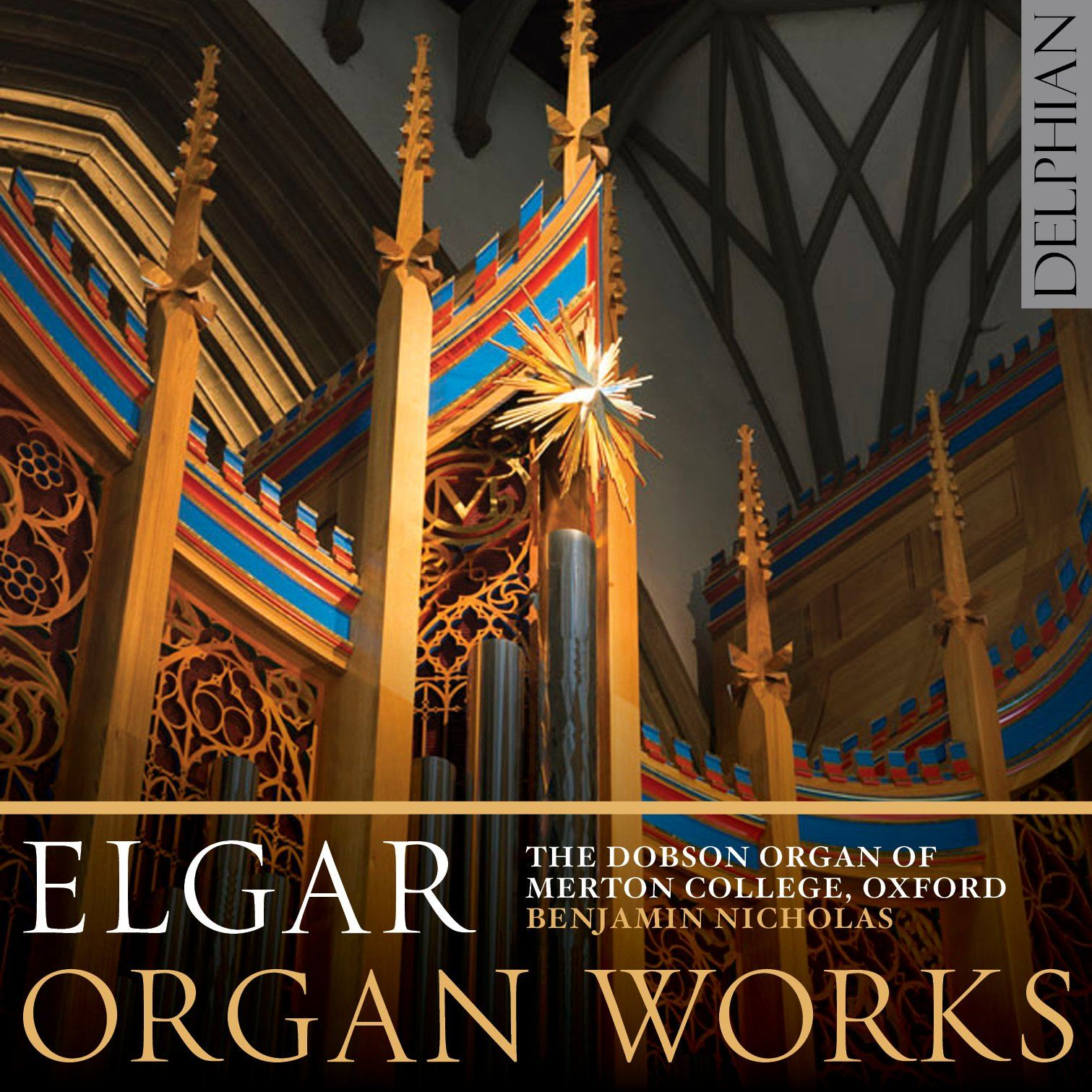 Elgar: Organ Works CD Delphian Records