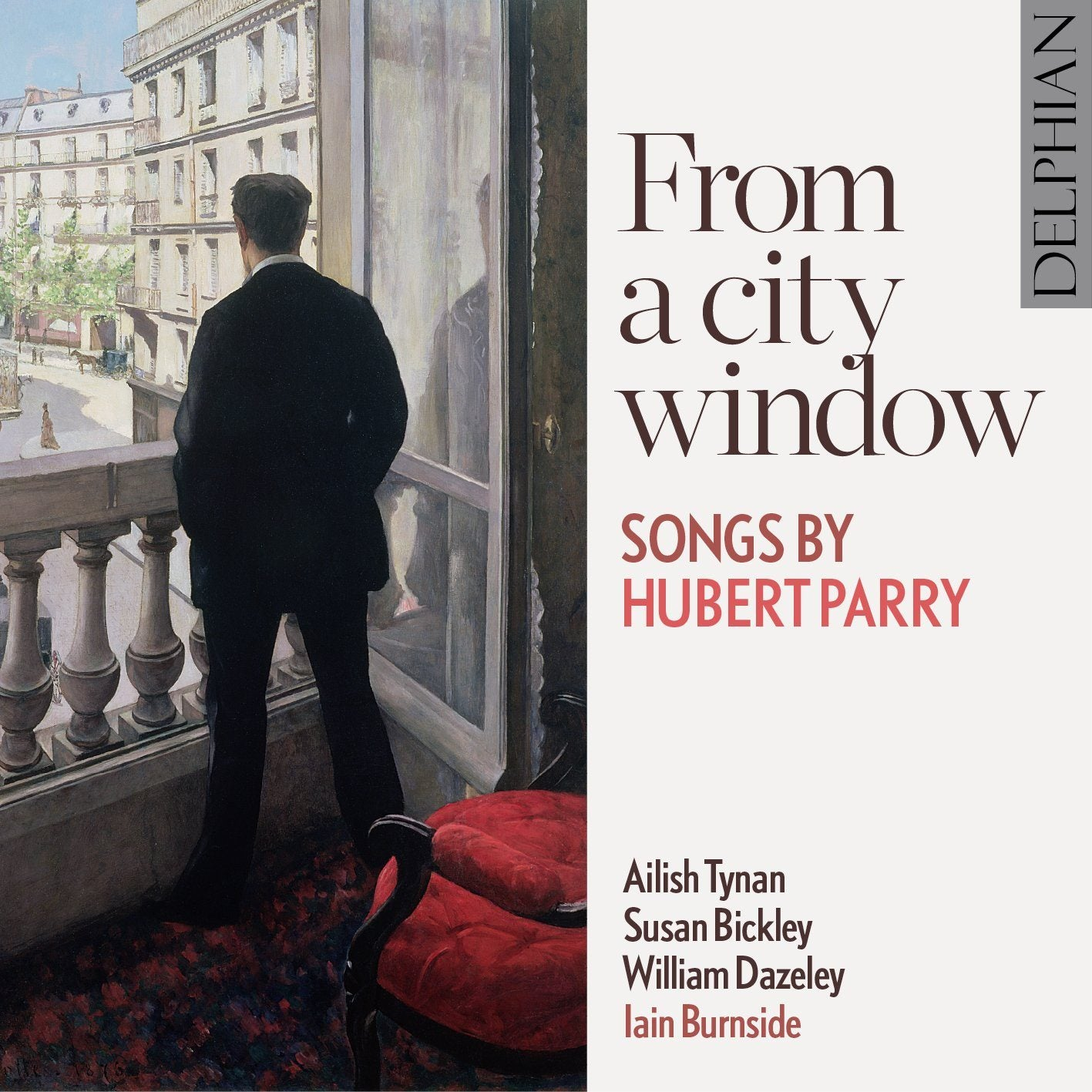 From a city window: songs by Hubert Parry CD Delphian Records