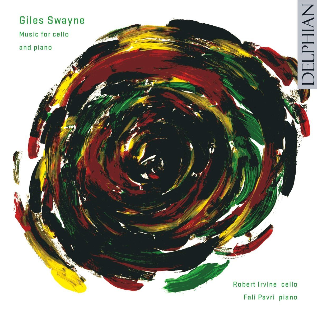 Giles Swayne: Music for cello and piano CD Delphian Records
