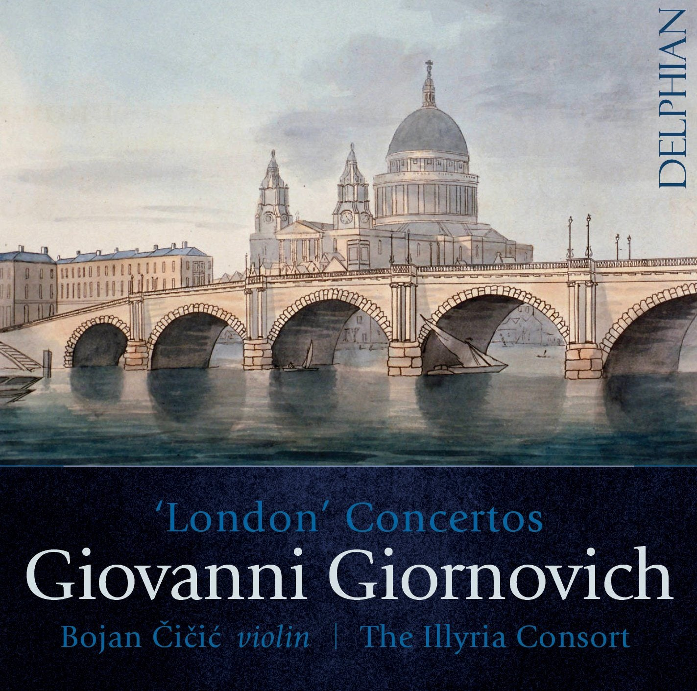 Giovanni Giornovich 'London Concertos' CD Delphian Records