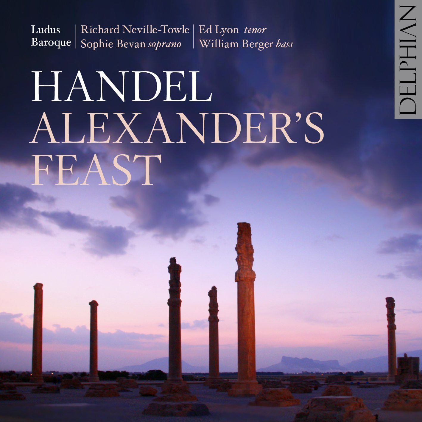 Handel: Alexander's Feast (2CD) CD Delphian Records