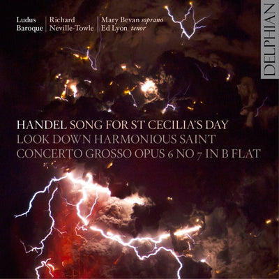 Handel: Song for St Cecilia's Day CD Delphian Records
