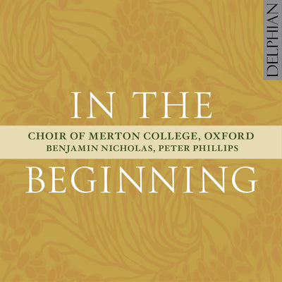 In the Beginning CD Delphian Records