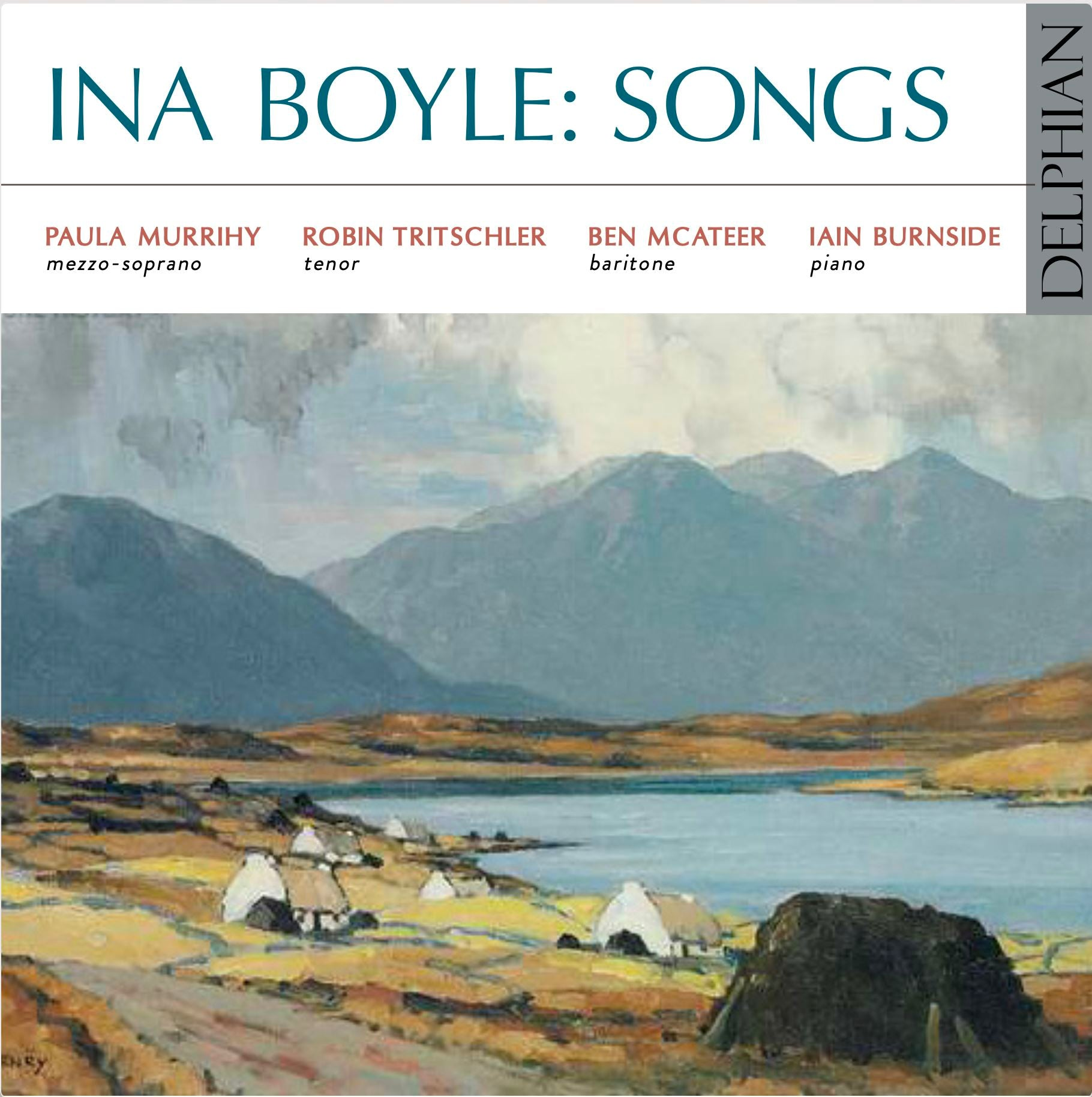 Ina Boyle: Songs CD Delphian Records