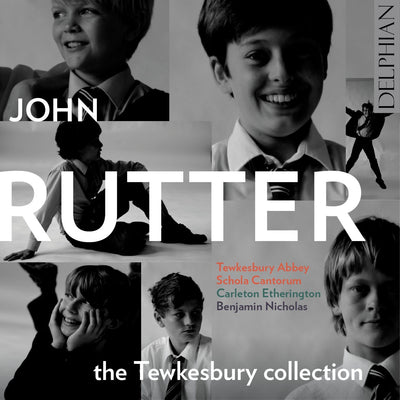 John Rutter: The Tewkesbury Collection CD Delphian Records