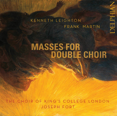 Leighton | Martin: Masses for Double Choir CD Delphian Records