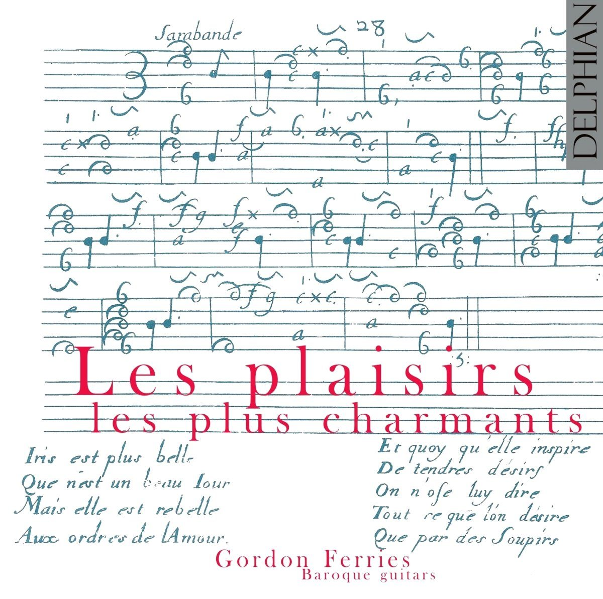 Les plaisirs les plus charmants CD Delphian Records