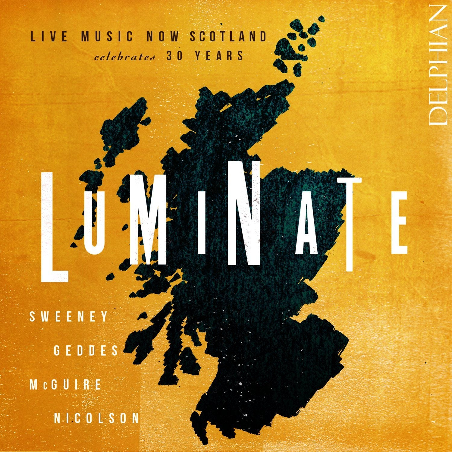 Luminate: Live Music Now Scotland celebrates 30 years CD Delphian Records