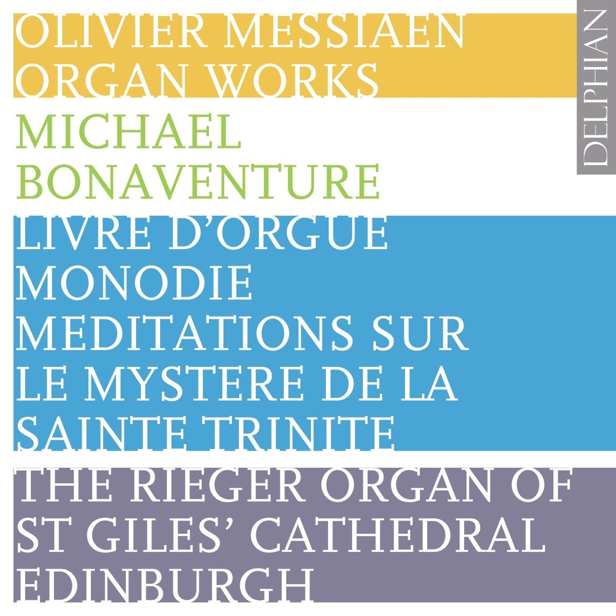 Messiaen: Organ Works Vol II (2 CDs) CD Delphian Records