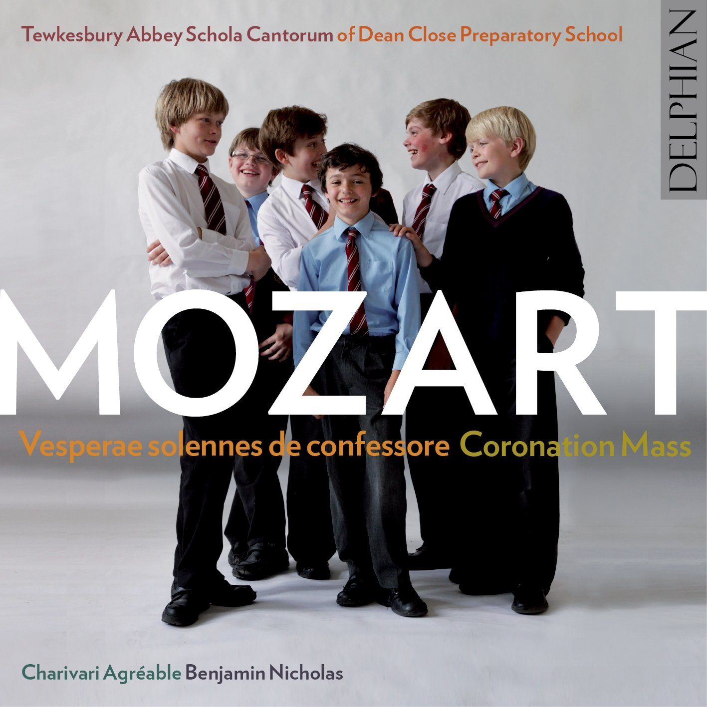Mozart: 'Coronation' Mass, Vespers, Ave verum corpus CD Delphian Records