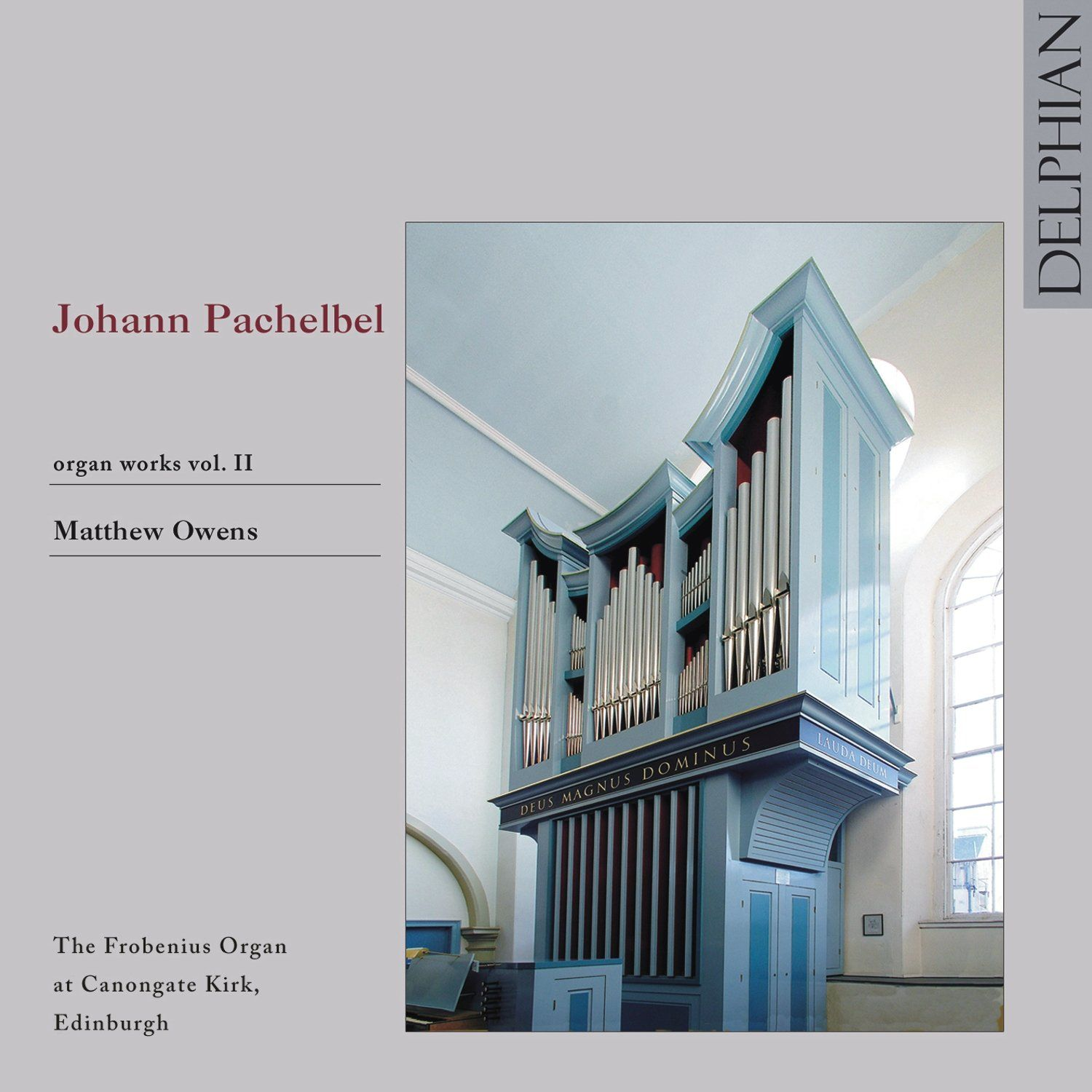 Pachelbel: Organ Works Vol II CD Delphian Records