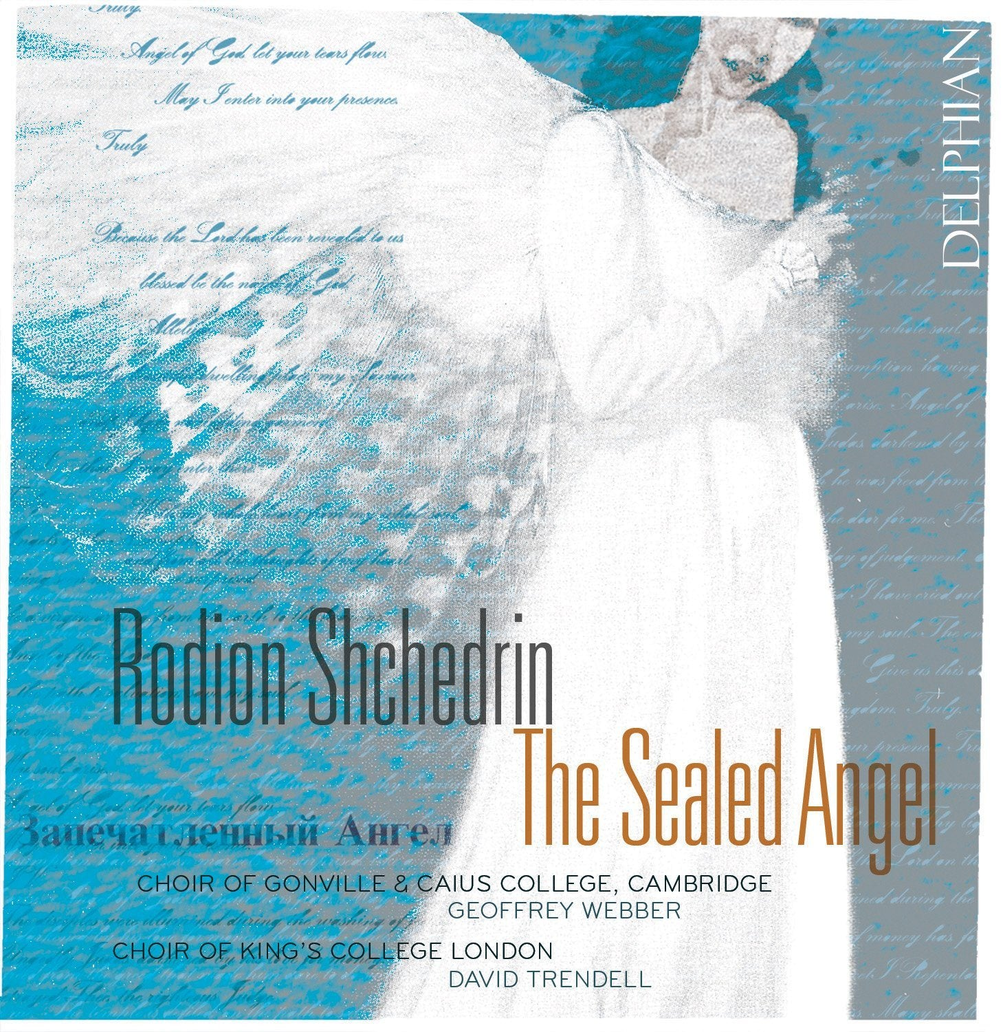Shchedrin: The Sealed Angel CD Delphian Records
