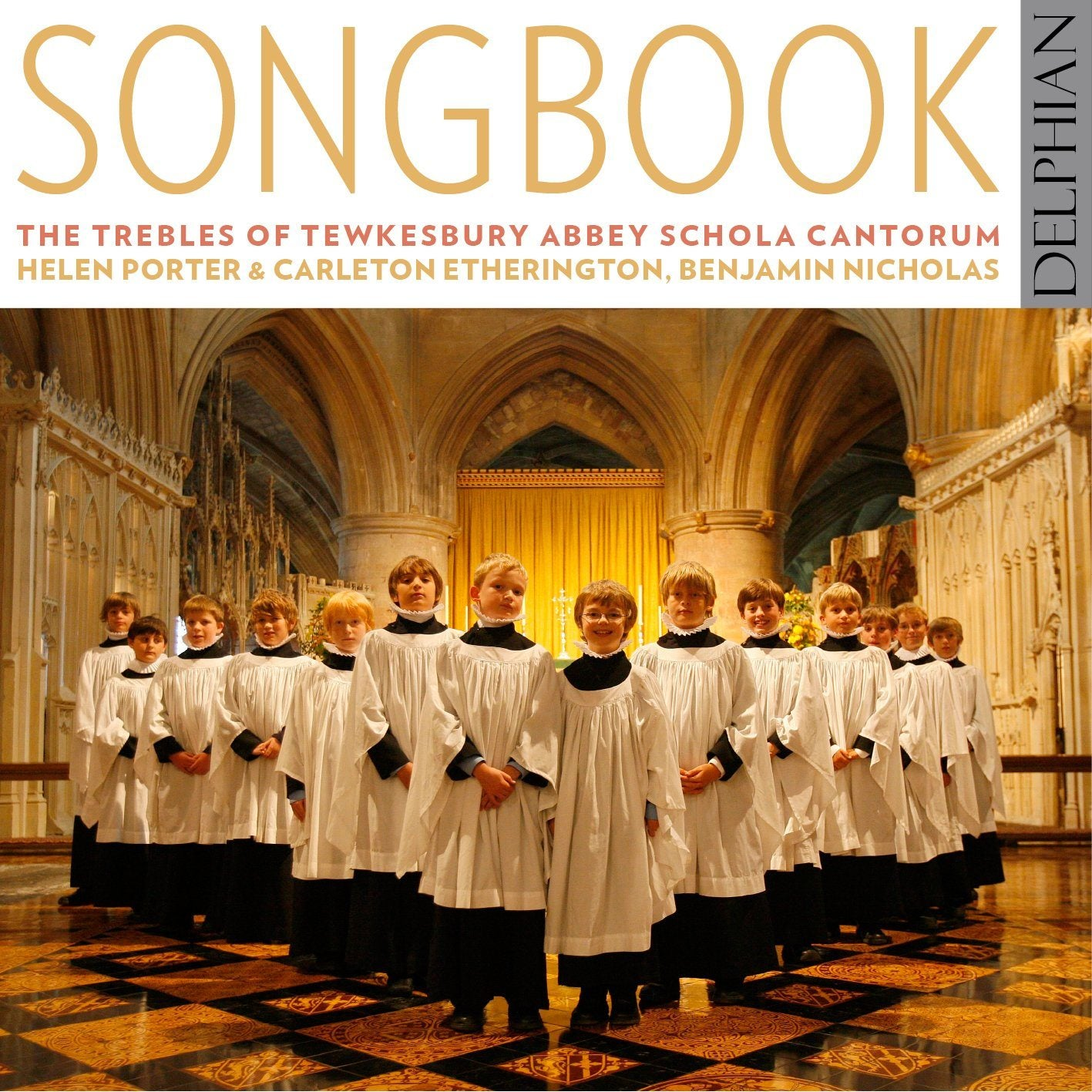 Songbook CD Delphian Records