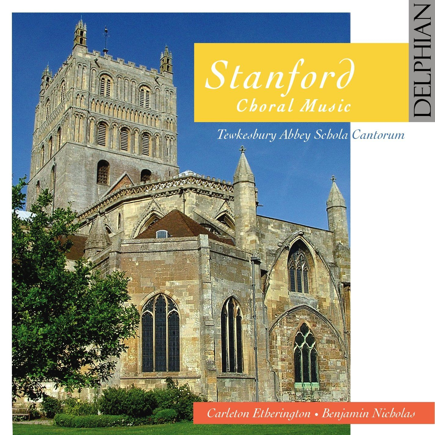 Stanford: Choral Music CD Delphian Records