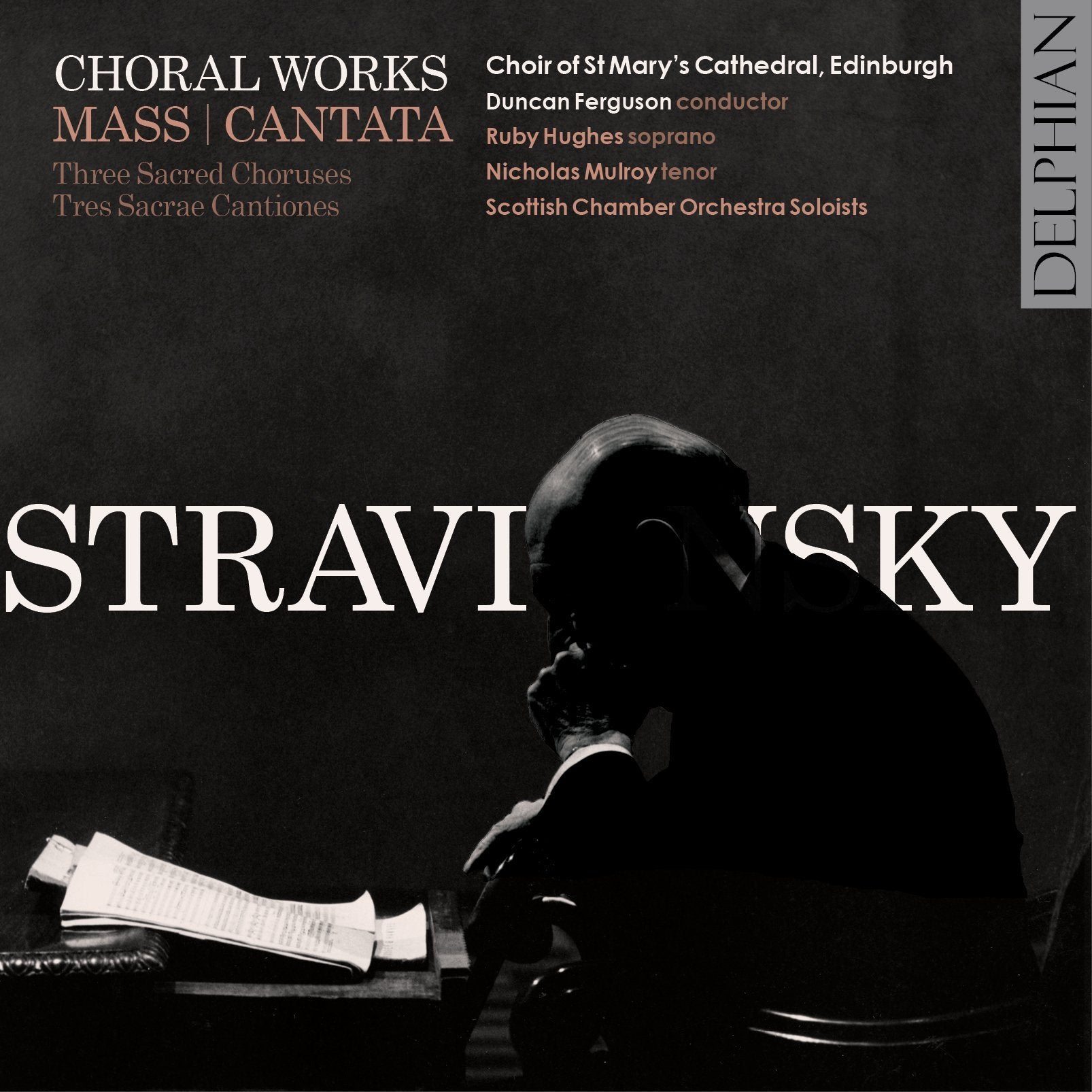 Stravinsky: Choral Works CD Delphian Records