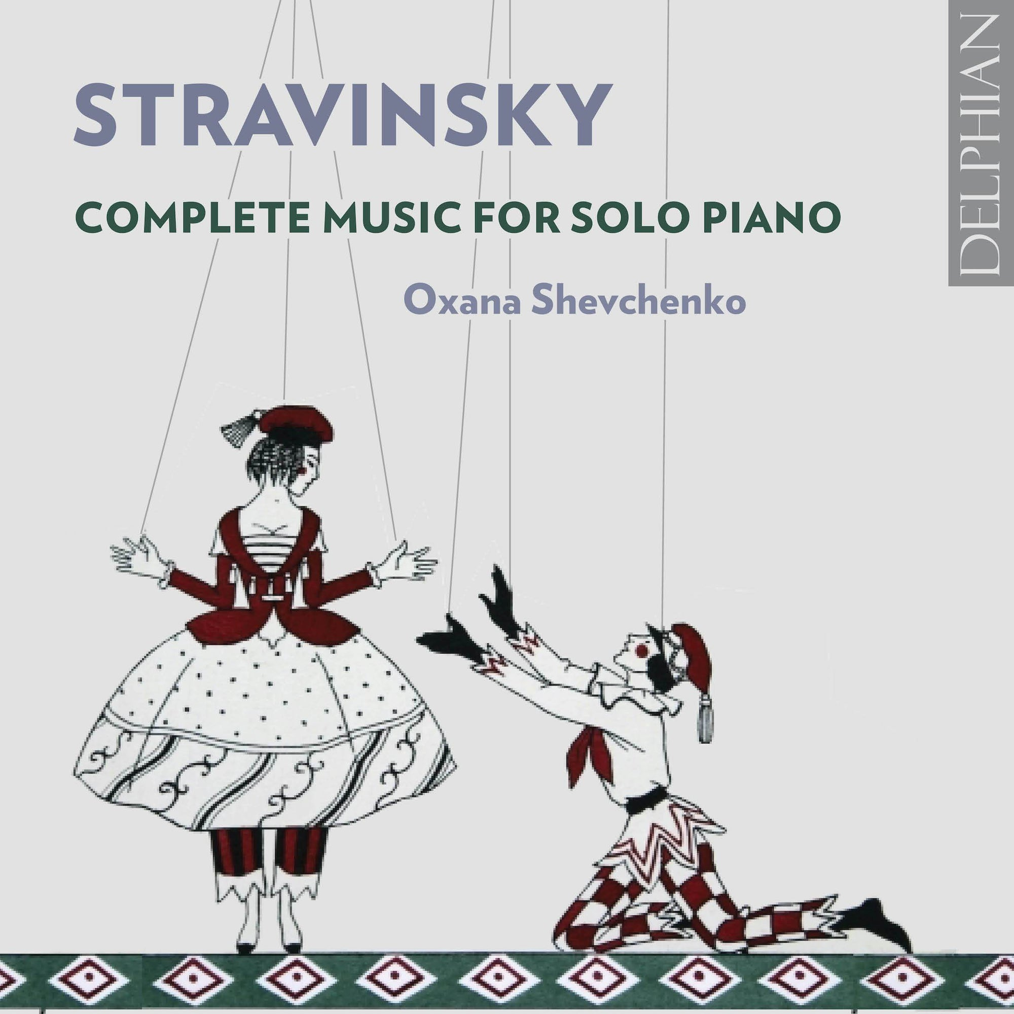 Stravinsky: Complete Music for Solo Piano CD Delphian Records