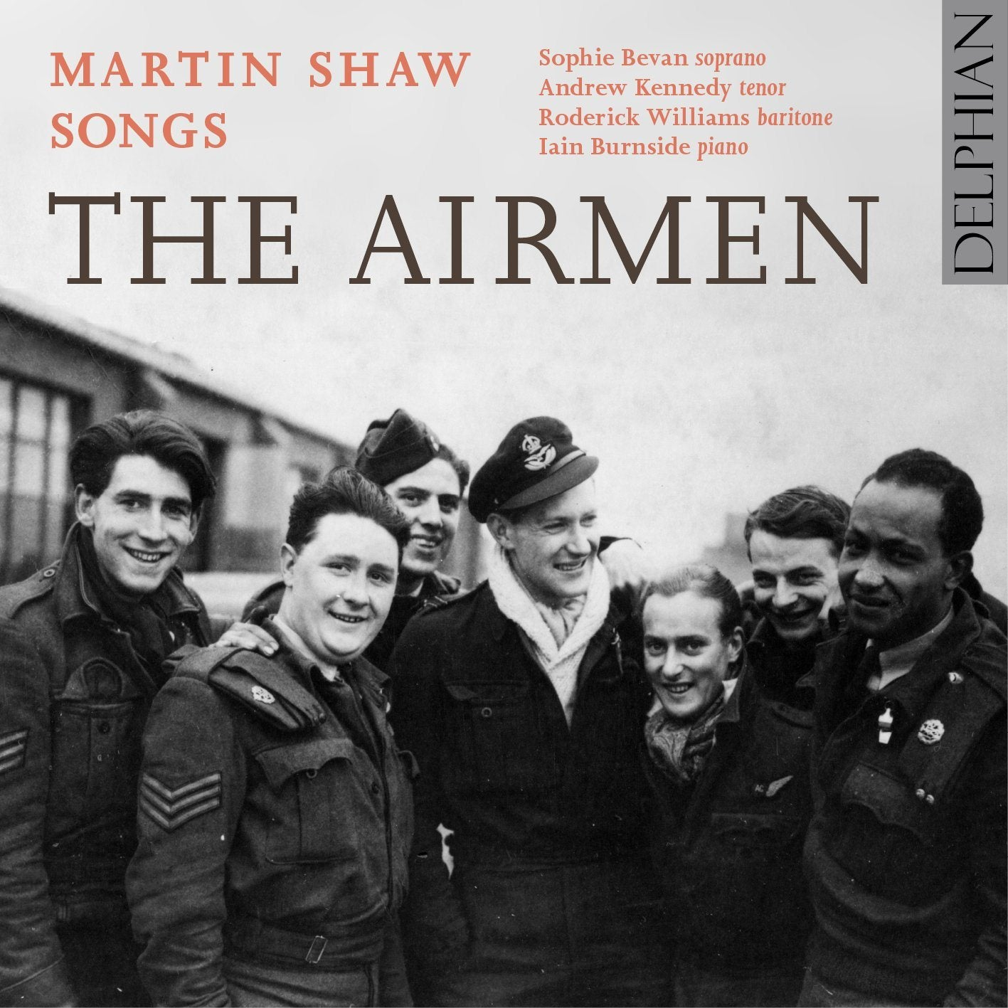 The Airmen: songs by Martin Shaw CD Delphian Records