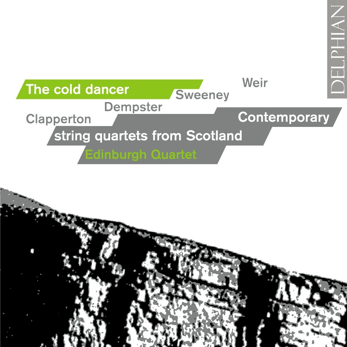 The Cold Dancer: contemporary string quartets from Scotland CD Delphian Records