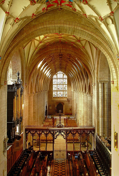 The Grove & Milton Organs of Tewkesbury Abbey CD Delphian Records
