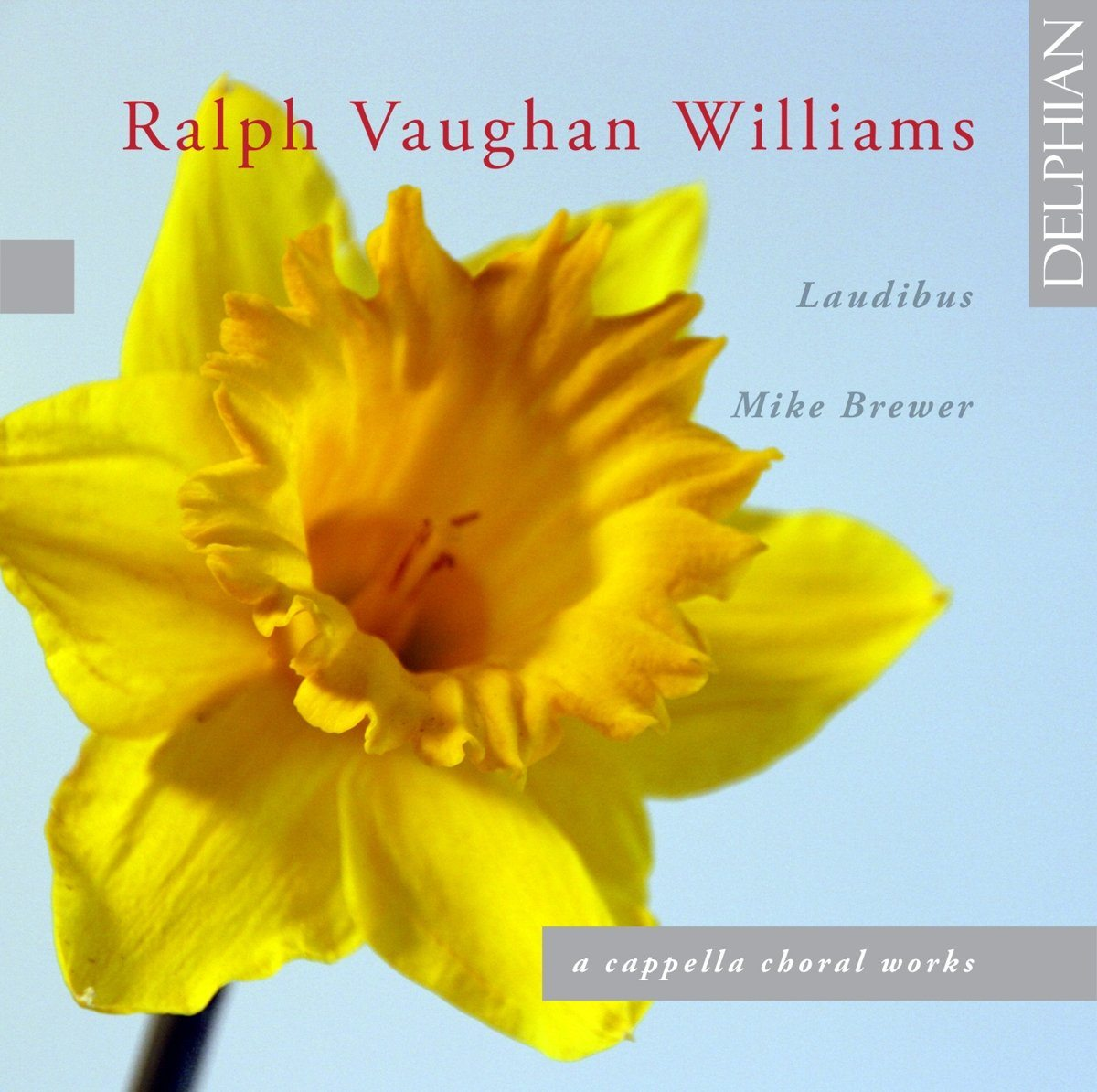Vaughan Williams: A Cappella Choral Works CD Delphian Records