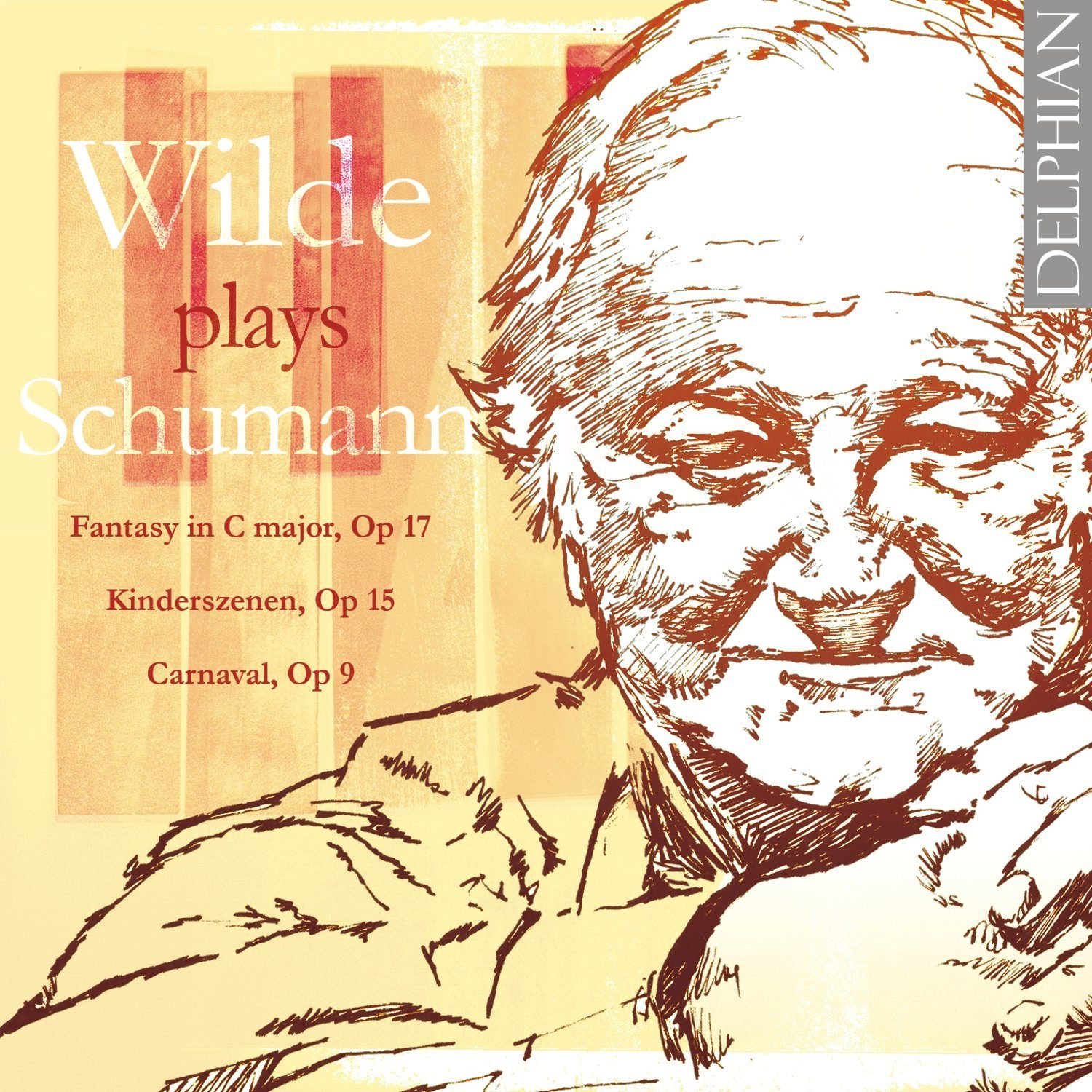Wilde plays Schumann CD Delphian Records