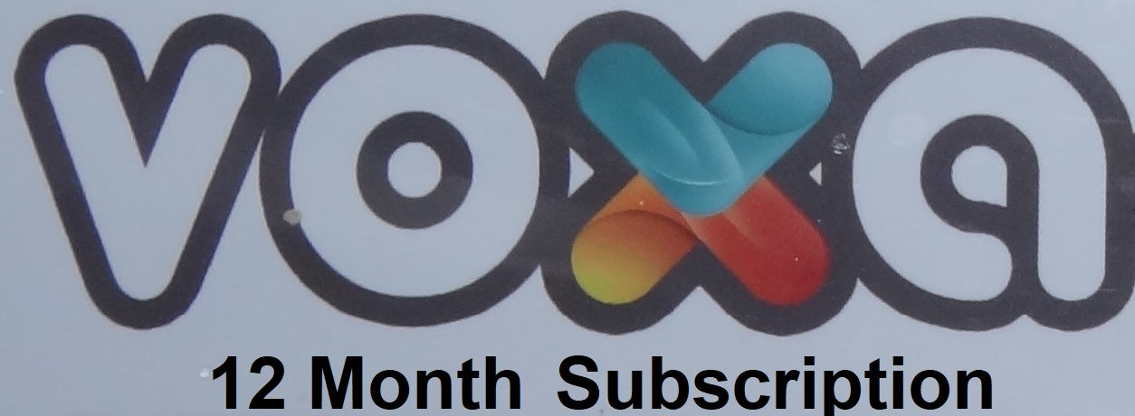 Voxa 12 Month Subscription - ISTARUS.COM