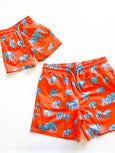 Elephants Mens Swim Trunk