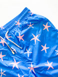 Blue Starfish Mens Swim Trunk