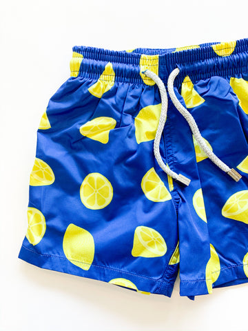 Lemons Boys Swim Trunk